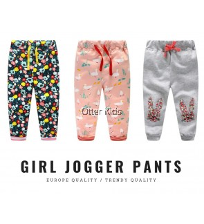 Girl Jogger Pants Trendy Design
